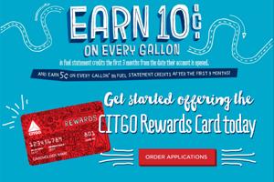 CITGO Rewards Savings Calculator. banner design & development